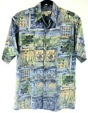 Tori Richard Mens Small Cotton Lawn Hawaiian Camp Shirt Chest 42""