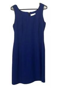 BNWOT EVENTS Designer Summer Dress Size 10 Business Casual Elegant Lined