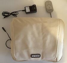 HoMedics Shiatsu Cushion with Remote Control Heated - Cream/Beige - lightly used