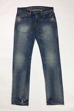 American eagle jeans uomo usato skinny W30 L32 tg 44 stretch blu boyfriend T3651
