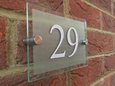 140x100 DIY Sign House Sign Plaque Door Number Acrylic House Name