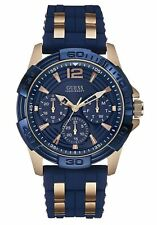 Guess Mens Blue Watch Oasis W0366G4