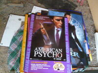 AMERICAN PSYCHO DVD RELEASE 1 SHEET AUST EDITION MOVIE POSTER
