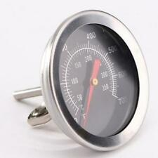 Pit Smoker Grill Thermometer Temp Gauge Outdoor BBQ Camping Stainless Steel JJ