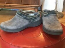 Dansko Brittany Slip On Clogs Gray Sz 6 36