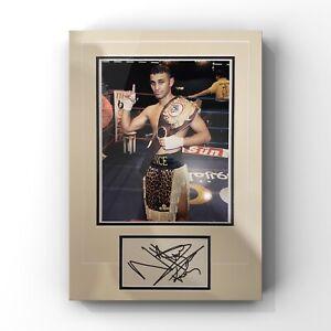 Prince Naseem Hamed - Great British Boxer Signed Display