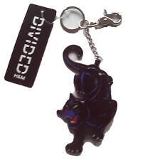 Anhänger Panther H&M 12x7 NEU schwarz blau Taschen Schmuck Schlüssel