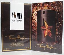 Thierry MUGLER A MEN PURE MALT 100ml EDT Eau de Toilette Spray NUOVO