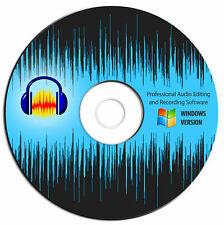 DAW/edición de audio y música