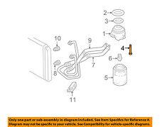 GM OEM Oil Cooler-Adapter Bolt 14088852