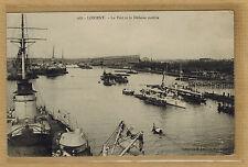 Cpa Lorient - le port et la défense mobile rp0694