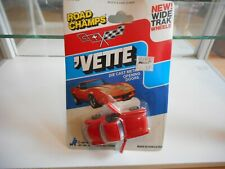 Road Champs Corvette Vette in Red on Blister