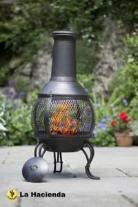 Steel Chimenea Chiminea Patio Heater Fire Pit Garden Outdoor NEW