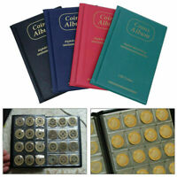 150 Album Coin Penny Money Storage Book Case Folder Holder Collection Collecting