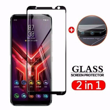 For Asus ROG Phone 5 Pro /Ultimate, Tempered Glass Screen Protector + Lens Flim
