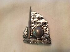 1939 New York World's Fair Pin, Trylon & Perisphere