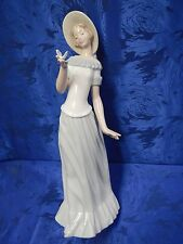 BUTTERFLY'S DANCE FEMALE GIRL PORCELAIN FIGURINE NAO BY LLADRO  #1398