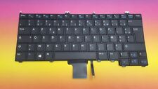 Keyboard French Dell Latitude 12 7000 E7240 14 7000 E7440 0K1N66 Backlit