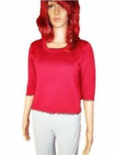 3/4 Sleeve Crew Neck Petite Jumpers & Cardigans for Women