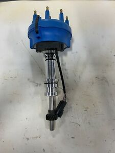 Crane 1000-1612 Race Billet Distributor in Blue Fits Small Block Ford