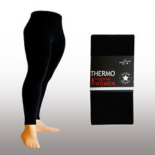 Thermo Legging warm Winter blickdicht Modefarben Gr. 38-48 S M L XL XXL*****