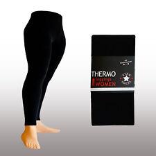 Thermo-legging In schwarz Gr.s