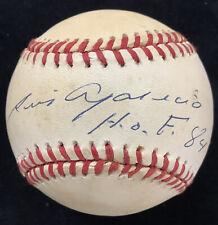 Luis Aparicio Signed Baseball Rawlings CHI White Sox Autograph HOF 84 Inscr JSA