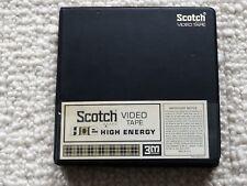 Vintage Scotch AV audio video tape reel to reel