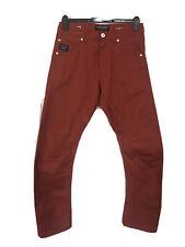 "Jack Jones Core Workwear Lab. Rojo. 32"" Cintura 32"" pierna Denim de Superdry."
