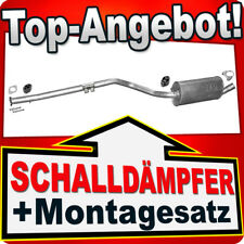 Mittelschalldämpfer FORD TRANSIT/TOURNEO CONNECT 1.8Di/TDCi SWB 2006-2010 BBT