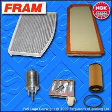 KIT di ricambio Seat Leon (1p) 2.0 TURBO FSI OLIO COMBUSTIBILE ARIA CABINA Spine Filtro (05-12)