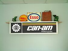 CAN-AM motorcycles BANNER - MX workshop Bombardier qualifier MX1 175 250 370 MX2