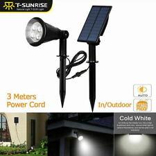 *US STOCK* Solar Power Spot Lights LED Garden Outdoor Path Landscape Wall Lamps