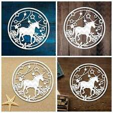 Unicorn Cutting Dies Stencil DIY Embossing Scrapbooking Album Paper Card xfu