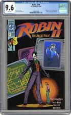 ROBIN II JOKERS WILD 1 CGC 9.6 - JOKER Robin 2 ii ll - Batman Joker's BODY 1991