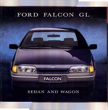 1988 FORD EA FALCON GL Sedan & Wagon Large Format 28 Page Prestige Brochure