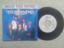 EUROPE ROCK THE NIGHT HOLLAND 7 INCH VINYL SINGLE 1985 RARE COLLECTORS EDITION !