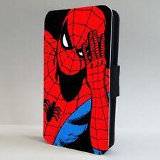 Spider Man Superhero Marvel Cool Art FLIP PHONE CASE COVER for IPHONE SAMSUNG