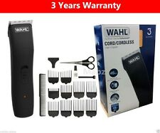 Wahl Da Uomo Cavo/Cordless Ricaricabile Trimmer TOSATRICE Kit Set 9655-417