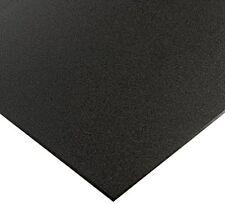 "Black Marine Board HDPE Polyethylene Plastic Sheet 1/2"" - 0.500"