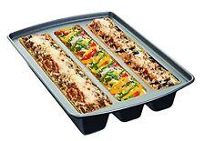Lasagna Pan Trio Non Stick Bakeware Cookware Baking Roasting Cooking Tray Mold