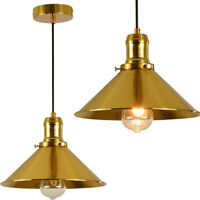 Ceiling Pendant Lamp Light Retro Vintage Industrial Metal Hanging Lighting Shade