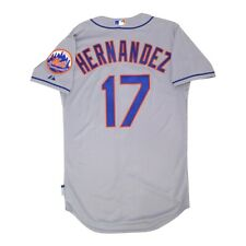 Keith Hernandez New York Mets Authentic On-Field Cool Base Grey Road Jersey 40