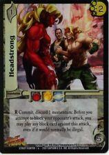 UFS CCG Street Fighter Headstrong Foil promo 14/99 MINT