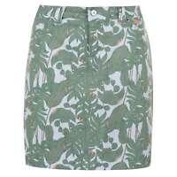 Slazenger Womens Pattern Skort Lightweight Zip Print All Over