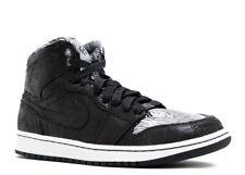 2015 Nike Air Jordan 1 Retro High BHM SZ 9 White Black Toe Chicago OG 579591-010