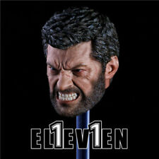 USA 1/6 Angry Logan Headsculpt Wolverine Hugh Jackman Type Fit 12'' Figures