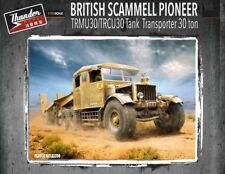 NUOVI modelli THUNDER 1:35 Scammell Pioneer trmu 30/trcu 30 TANK TRANSPORTER