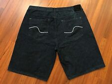 ENYCE  - Baggy Loose Fit Blue Jean Shorts - Men Size 46 - Dark Excellent!!