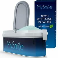 40g MySmile Teeth Whitening Powder 6 Months Supply Kit  Remove Tooth Stains